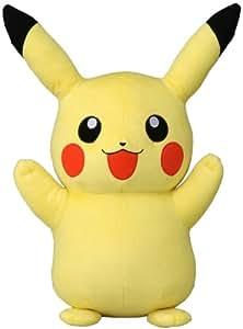 Tomy - Peluche Pikachu géante 40 cm