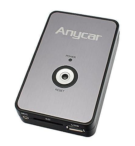 USB SD AUX MP3 Adapter für Audi mit den Radio: Chorus 2, Concert 1/2, Symphony 1/2, Navigation Plus