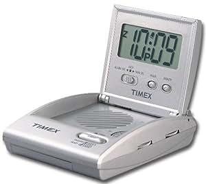 Timex T315SX Travel Alarm Clock Radio (Silver) Consumer Portable Electronics/Gadgets
