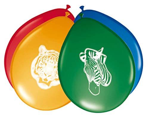 Folat Luftballons Safari Party, 8 Stück