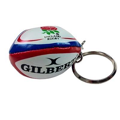 Gilbert Rugby Ball Keyring (England) from Gilbert