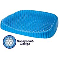 Preisvergleich für Unbekannt NF Honeycomb Silikon Sitzkissen, Schmerzlinderung Müdigkeit Kissen, Sommer Cool Breathable Rollstuhl, Auto und Büro Stuhl Kissen Größe: 40 * 35 * 8 cm
