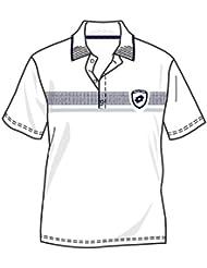 Lotto Polo Crown, hombre, White/Deep Navy, color Wei, tamaño XXXL