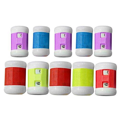 10 STK Stricknadeln Reihezähler Kunststoff Häkeln Stricken Stricknadeln Zeile Zähler Zubehör Assistent Werkzeuge Zufälligen Farbe -