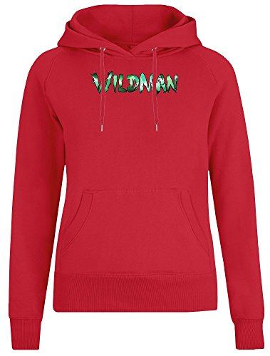 Wildman Jacket with Hoodie for Women - 100% Soft Cotton - High Quality DTG Printing - Custom Printed Womens Clothing