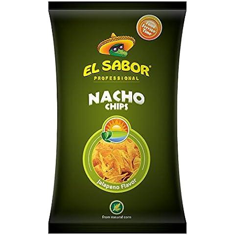 El Sabor Nachos Chips Jalapeno - 500