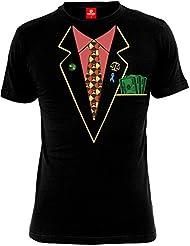BREAKING BAD - T-Shirt Mec BREAKING BAD - Better Call Saul Tuxedo - Noir