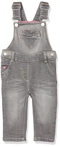 s.Oliver Baby-Mädchen Latzhose 65.802.71.3142, Grau (Grey/Black Denim Stretch 95Z2), 92 (Junior Mini Denim)