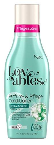 Lovables Sensual Secrets Parfüm- und Pflege-Conditioner, Weichspüler, mit Micro-Oil, 5er Pack (5x 850 ml)