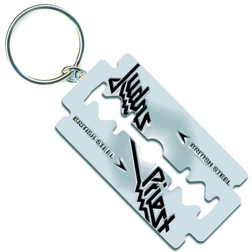 Judas Priest Key Ring (Key Chain): British Steel R