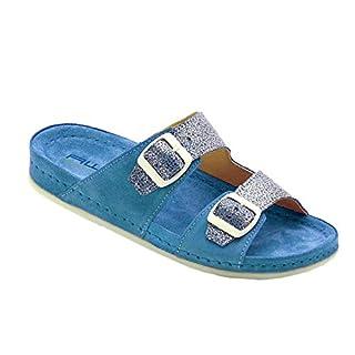 Eliware Footwear AWC, Sandale Lime, Farbe: Turquoise, Größe: 38