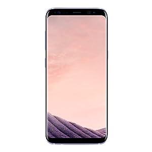 Samsung Galaxy S8 Smartphone Débloqué 4G [Import Italie] (Ecran : 5,8 pouces - 64 Go - 4 Go RAM - Simple Nano-SIM - Android Nougat 7.0) Orchidée