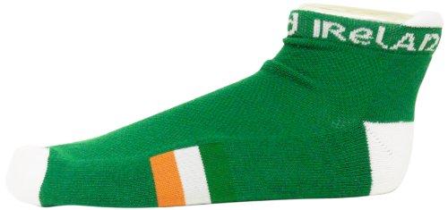 Donegal Bay Irland Grün Footie Socken (Slipper Socken Footie)
