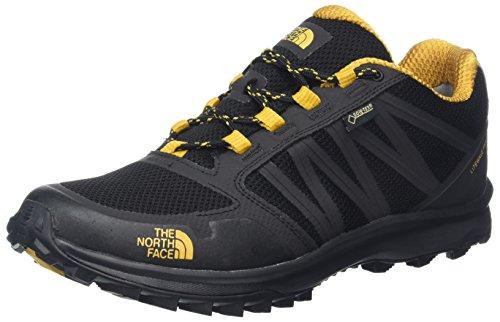 The North Face Herren Litewave Fastpack Gore-Tex Trekking-& Wanderhalbschuhe Mehrfarbig (Tnf Black/arrowwood Yellow)