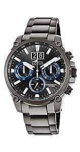 Lotus Reloj Cronógrafo para Hombre de Cuarzo con Correa en Acero Inoxidable 10140/3