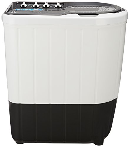 Whirlpool 7 kg Semi-Automatic Top Loading Washing Machine (SUPERB ATOM 7.0, Grey, TurboScrub Technology)