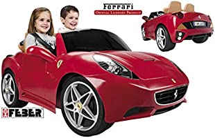 Feber Ferrari California 12V Ride-On Car - 800006338 Red