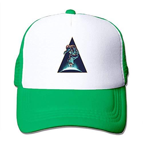 New Era Shop Future Astronauts Skateboard Youth Mesh Baseball Cap Summer Adjustable Trucker Hat