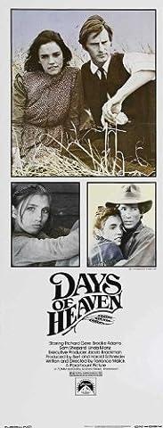 Days of Heaven Plakat Movie Poster (14 x 36 Inches - 36cm x 92cm) (1978) Insert (Brooke Adams Weihnachten)