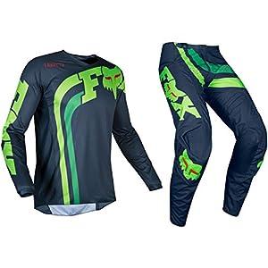 FOXHEAD 2019 Fox 180 Motocross Mx Hose, Jersey, COTA Navy, Navy, 30