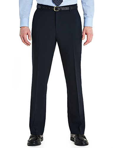 Mens Farah Slant Pocket Formal Classic Trouser Navy 38W x 29L