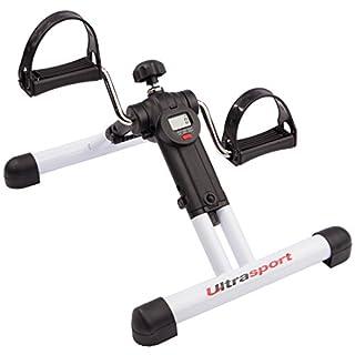 Ultrasport MPE 25 klappbares Mini-Fahrrad, Mini Bike Heimtrainer für Arm-/Beintraining: Hometrainer, Pedaltrainer für Muskelaufbau, Ausdauertraining