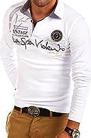 MT Styles Langarm Poloshirt DEL MUNDO T-Shirt R-0679