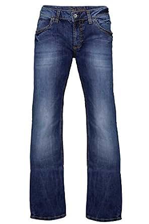 camp david herren jeans boot cut ni co r611 regular fit. Black Bedroom Furniture Sets. Home Design Ideas