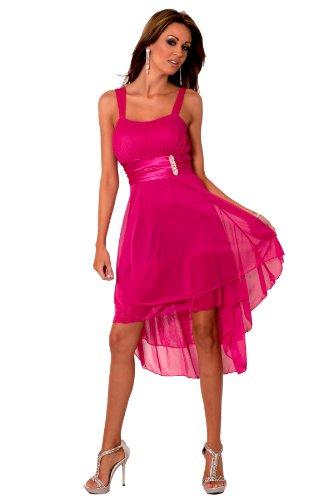 H1376 Designer Sleeveless Sheer Gathered Satin Layered Knee Length Evening Cocktail Party Prom Bridesmaid Dress