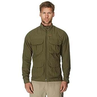 PARAMO Men's Halcon Traveller Jacket, Khaki, XXL