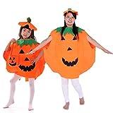 Traje de calabaza, OUTGEEK 2 piezas unisex calabaza traje de Halloween traje cosplay partido de ropa para adultos size M