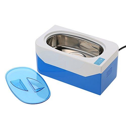 Preisvergleich Produktbild Decdeal 400ml Ultraschallreiniger Ultraschallreinigungsgerät für Reinigung von Brille CDs Schmuck Uhren