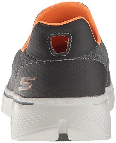 Skechers Go Walk 4, Baskets Basses Homme Gris (Ccor)