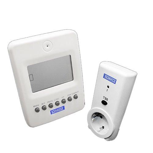 Schwaiger Funk Energiekosten Messgerät Steckdose Stromzähler Lcd Display