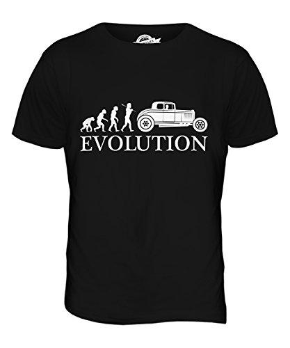CandyMix Hot Rod Evolution Des Menschen Herren T Shirt Schwarz