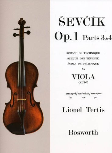 Op.1 Part 3 & 4 - Alto par Sevcik