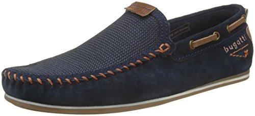 321469631469, Mocassins (Loafers) Homme, Bleu (Dark Blue/Dark Blue), 42 EUBugatti