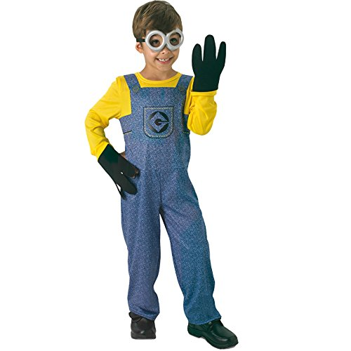 Illumination Entertainment I-610490L - Costume per travestimento da Minion, Bambini, L