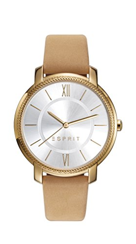 Esprit Womens Analogue Classic Quartz Watch with Leather Strap ES109532001