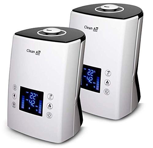2x Luftbefeuchter mit Ionisator CA-606