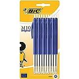 BIC M10 Original Stylos-Bille - Bleu, Blister de 10