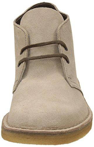 Clarks Originals Desert Boot, Chaussures de ville homme Gris (Wolf)
