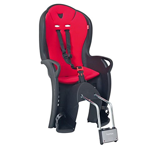 Hamax Kiss Fahrrad Kindersitz Fahrradsitz Kinderfahrradsitz Viele Farben, Farbe rot / schwarz