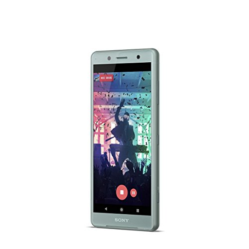 "Sony Xperia XZ2 Compact - Smartphone de 5"" (Octa-core de 2.8 GHz, RAM de 4 GB, memoria interna de 64 GB, cámara de 19 MP, Android) color verde  [Exclusivo Amazon]"