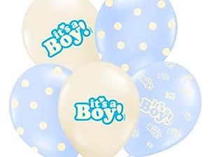 "'""It' s A BOY PALLONCINI 6pezzi Baby Baby Party palloncini"