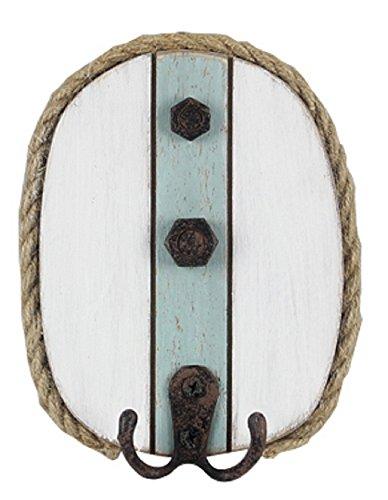 Youngs Holz nautischen Wandhaken -