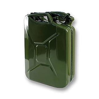 Kanister Metall Kohlenwasserstoffe Typ US 20L + Ausgießer: Autoselect