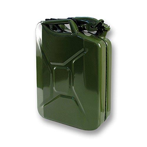 Jerrican métal hydrocarbures Type US 20L + Bec verseur : Autoselect