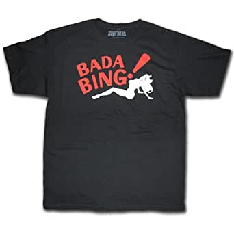 The Sopranos Bada Bing! T shirt Official (XX-Large)