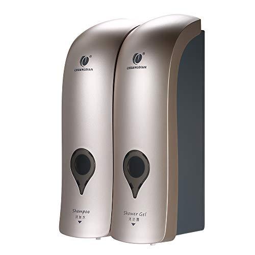 Decdeal - Lote 2 dispensadores jabón Manual 300 ml